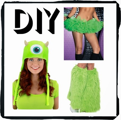 DIY Disney Costumes: Mike and Sulley
