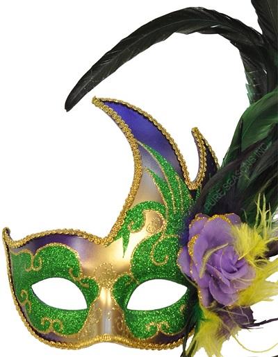 Mardi Gras Swan Mask