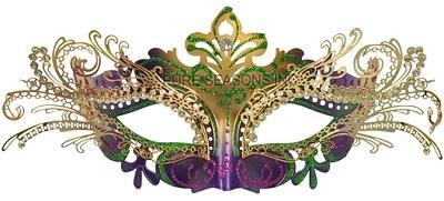 Farfalla Venetian Mask