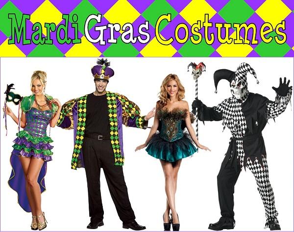 Mardi Gras Costumes 2014