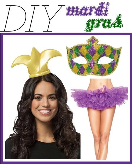 DIY Mardi Gras Outfit