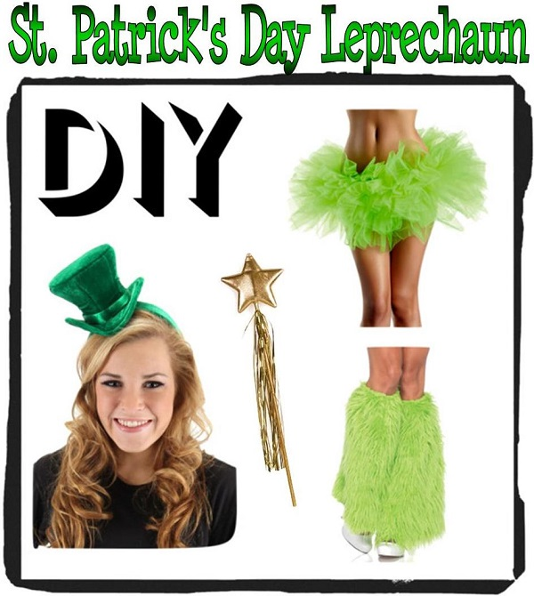 DIY Leprechaun costume