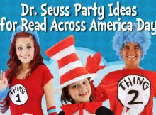 dr. seuss party ideas for read across america