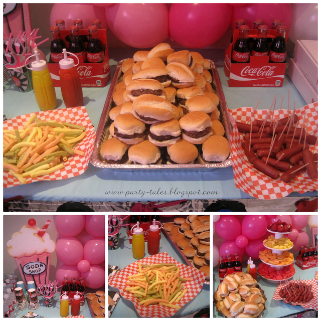 50's Diner Themed Party Ideas