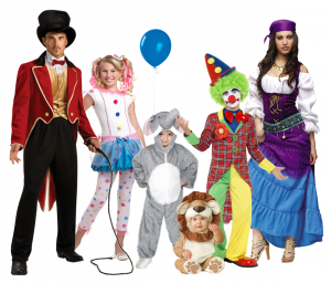 918 - Family Costumes - Circus
