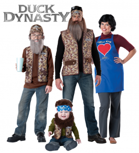 918 - Family Costumes - Duck Dynasty