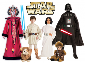 918 - Family Costumes - Star Wars