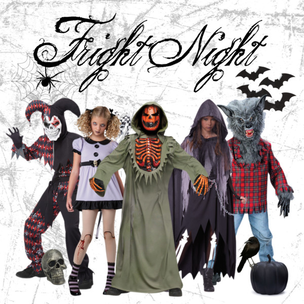 Polyvore - Fright Night