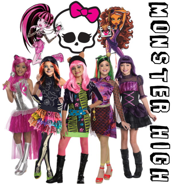 how to make a monster high costume at home