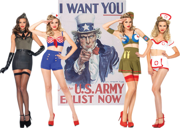 Polyvore - WWII Pin Up Girls
