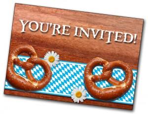 oktoberfest beer tasting party invitation
