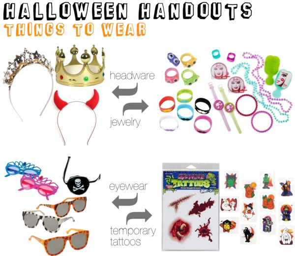 Halloween Handouts - Things to Wear
