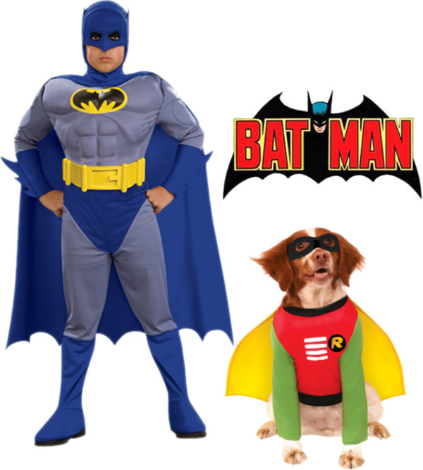 Polyvore - Pet and Owner Batman and Robin  sc 1 st  Pure Costumes & Pet and Owner Costume Ideas