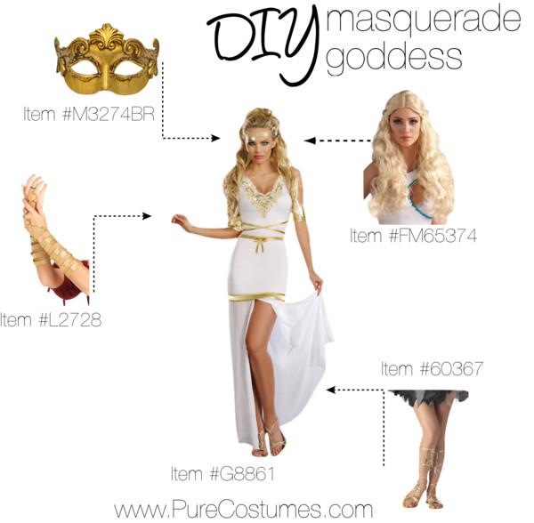 DIY Masquerade Goddeess