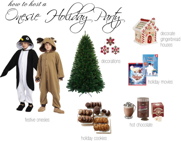 How to Host a Onesie Party