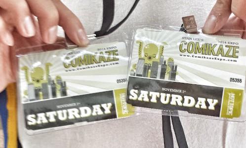Comikaze Badges