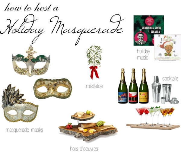 How to Host a Holiday Masquerade