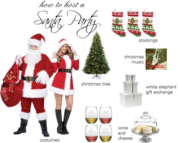 How to Host a Santa Party