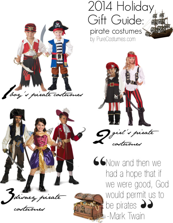 Holiday Gift Guide: Pirate Costumes Gifts