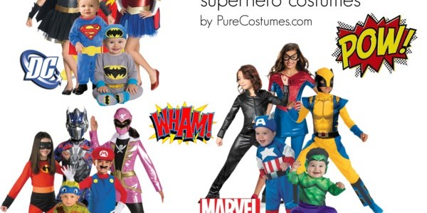 Superhero Costume Gifts