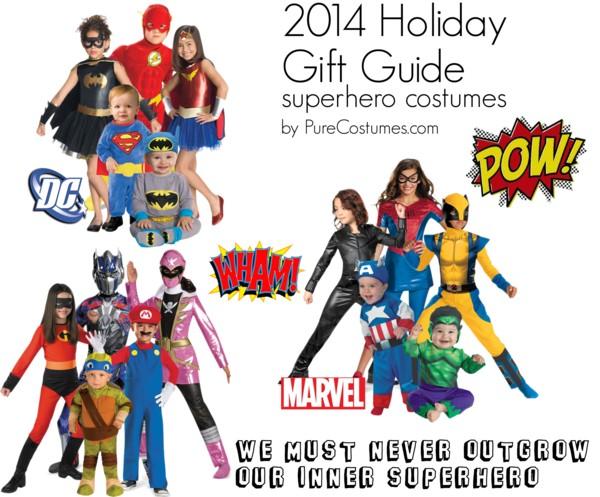 Superhero Costume Gifts