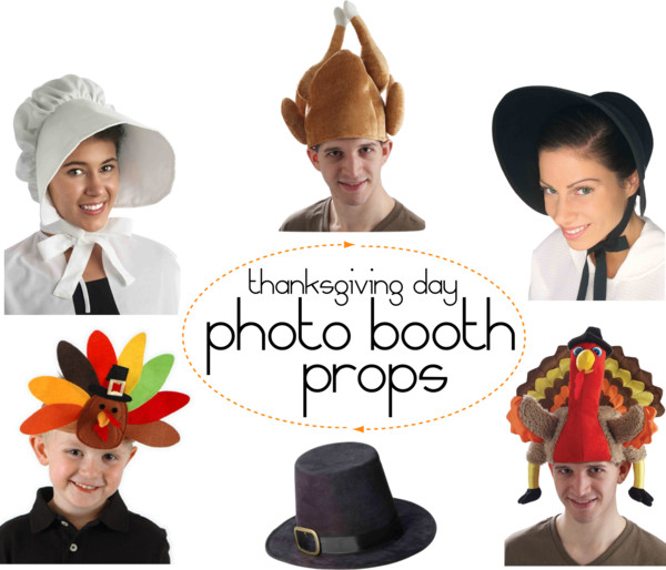 Polyvore - Thanksgiving Photo Props
