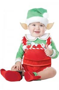 10038_Santa's Lil' Helper Elf Infant Costume