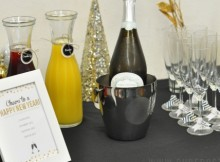 how to style a bubbly bar