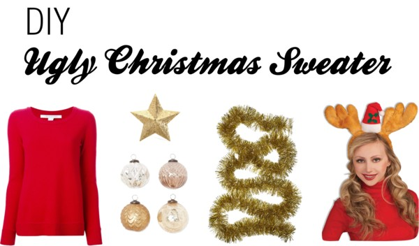 Polyvore - DIY Ugly Xmas Sweater
