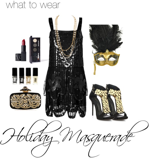 Polyvore - Holiday Masquerade 3