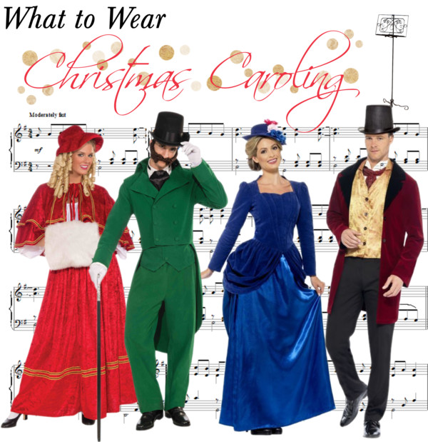 Our second set is, of course, our favorite and is for anyone who wants to go all out in full costume! The tradition of caroling from door to door came about ...