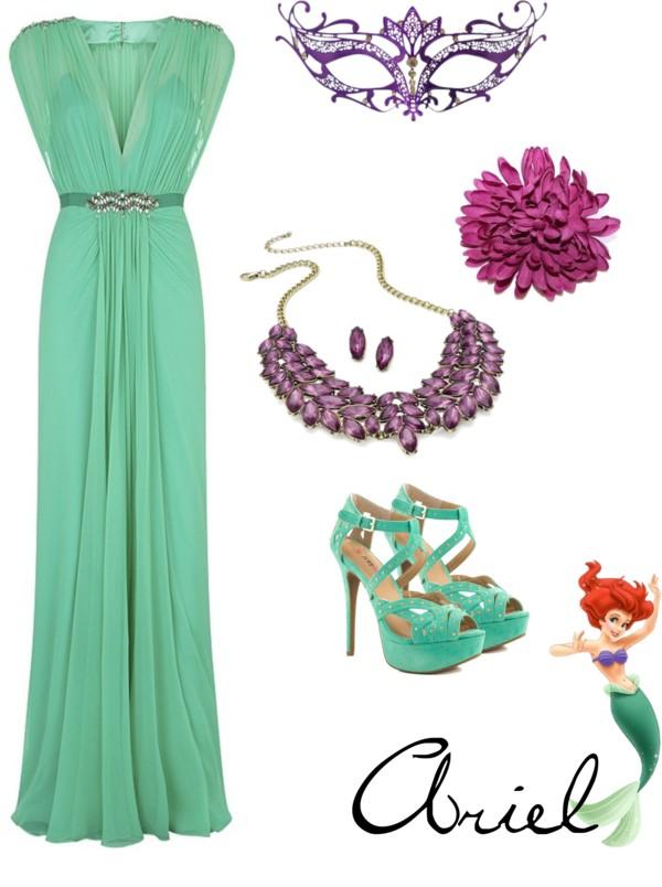 Belle Dress Floral Design Details Gold