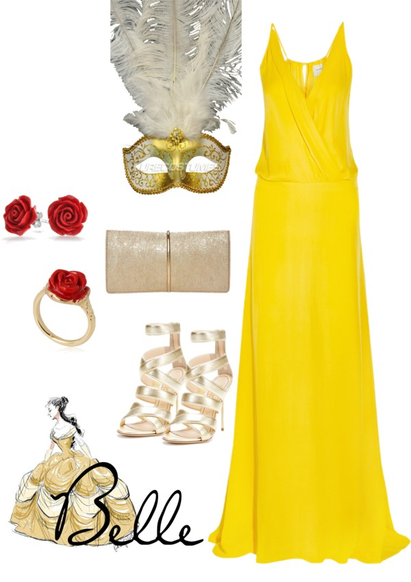 Disney Inspired Outfits Belle Belle Inspired Masquerade
