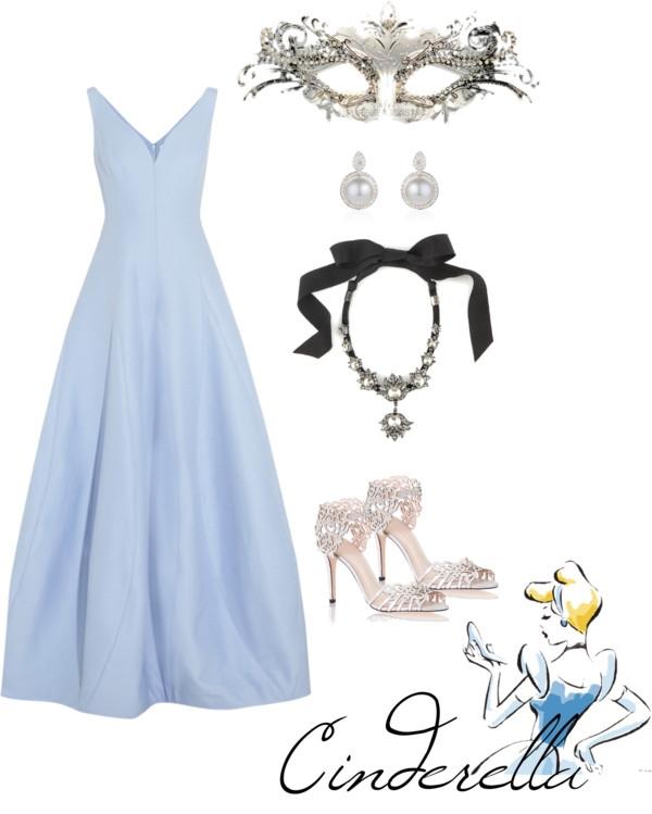 Polyvore Masquerade Dress