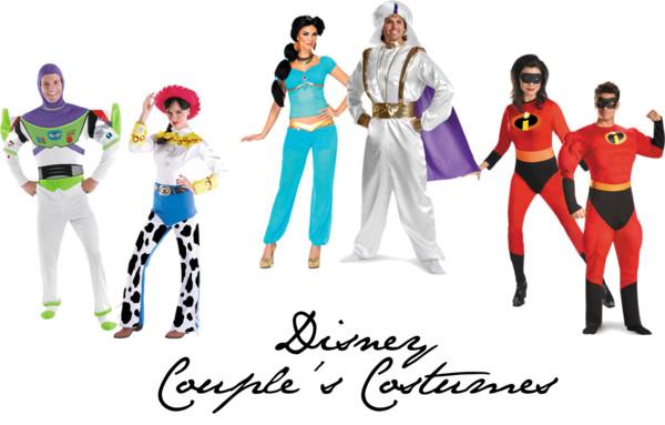 Disney Couple's Costume Ideas