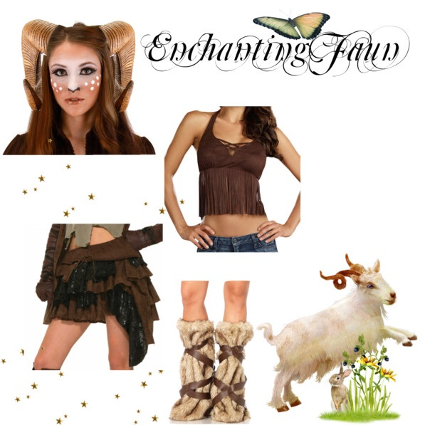 Polyvore - Enchanting Faun  sc 1 st  Pure Costumes & What to Wear: Renaissance Faire Fantasy Costume Ideas