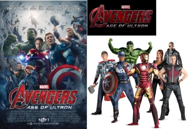 Polyvore - Avengers