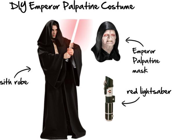 Star Wars DIY Emperor Palpatine Costume
