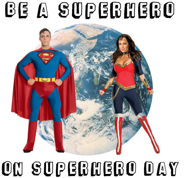 Polyvore - Superhero Day