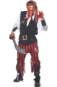 Cutthroat Pirate Adult Costume