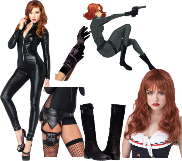 Comic-Con Costume Ideas - DIY Black Widow