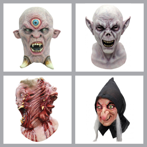 Scary Masks by Ghoulish Productions