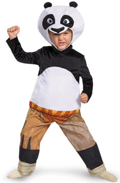 Panda-Po Deluxe Toddler Costume