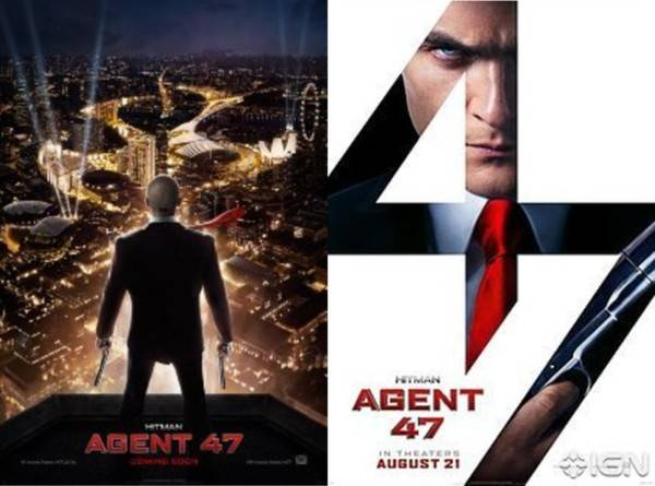 August Movies - Hitman Agent 47