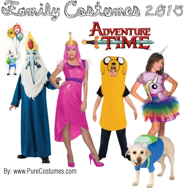 Family Costume Ideas - Adventure Time  sc 1 st  Pure Costumes & Family Costume Ideas 2015