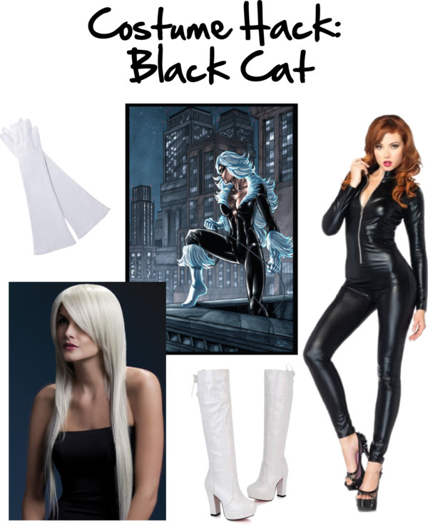 Costume Hack: DIY Black Cat Cosplay