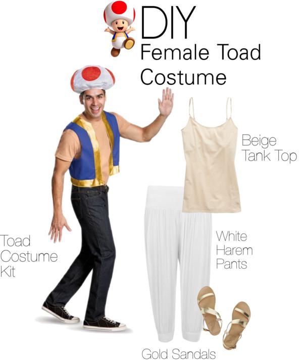 Diy Super Mario Toad Costume