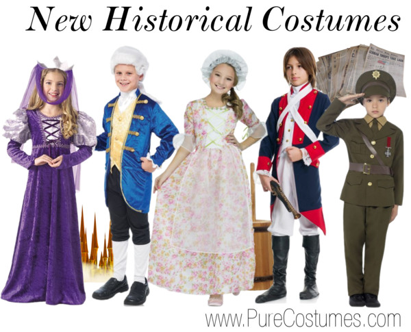Kids Historical Costumes