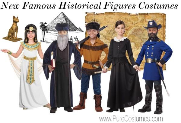 Kids Historical Figures Costumes