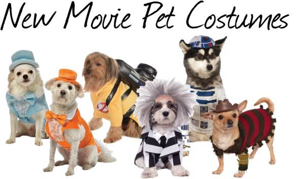 New Pet Costumes - Movies